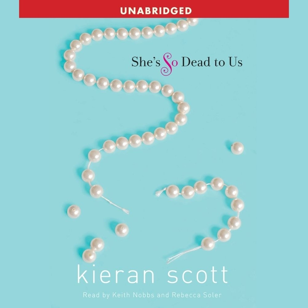 Printable She's So Dead to Us Audiobook Cover Art