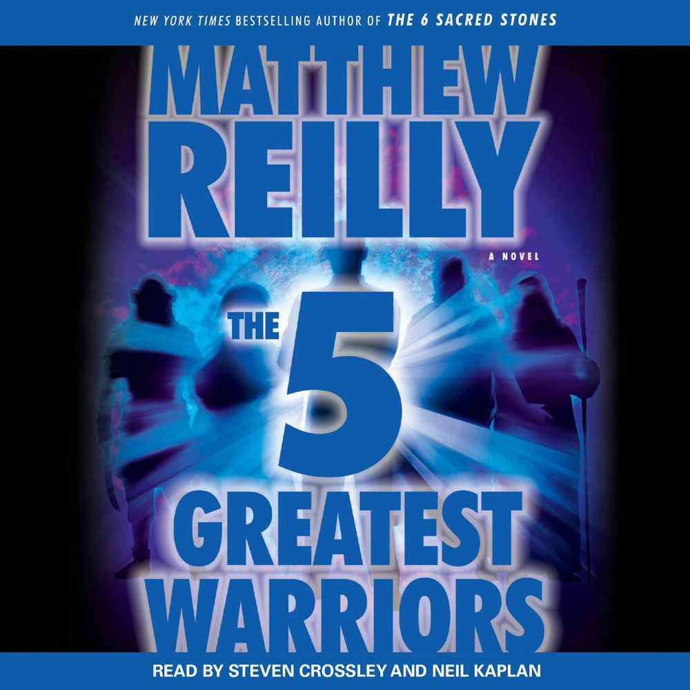 Printable The Five Greatest Warriors: A Novel Audiobook Cover Art