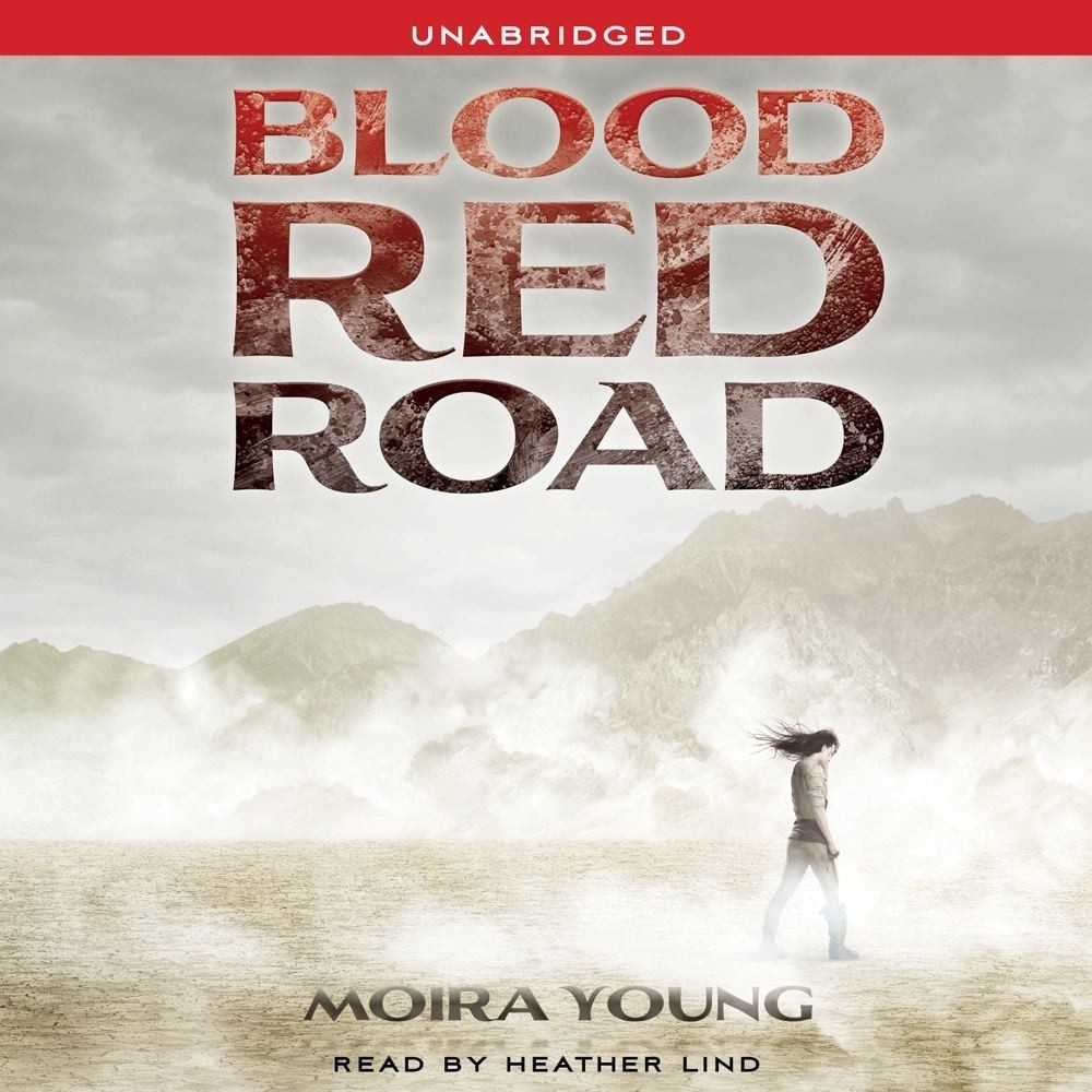 Printable Blood Red Road Audiobook Cover Art