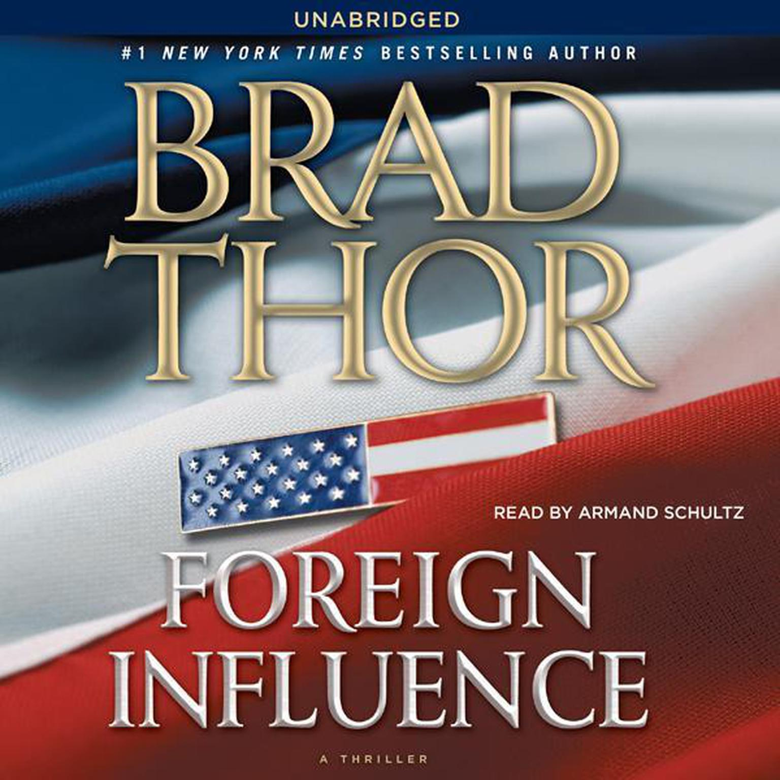 Printable Foreign Influence: A Thriller Audiobook Cover Art