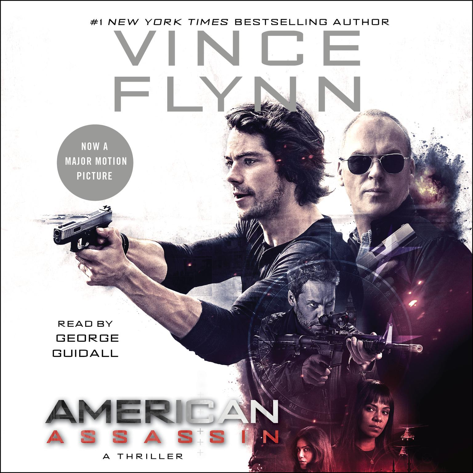 Printable American Assassin Audiobook Cover Art