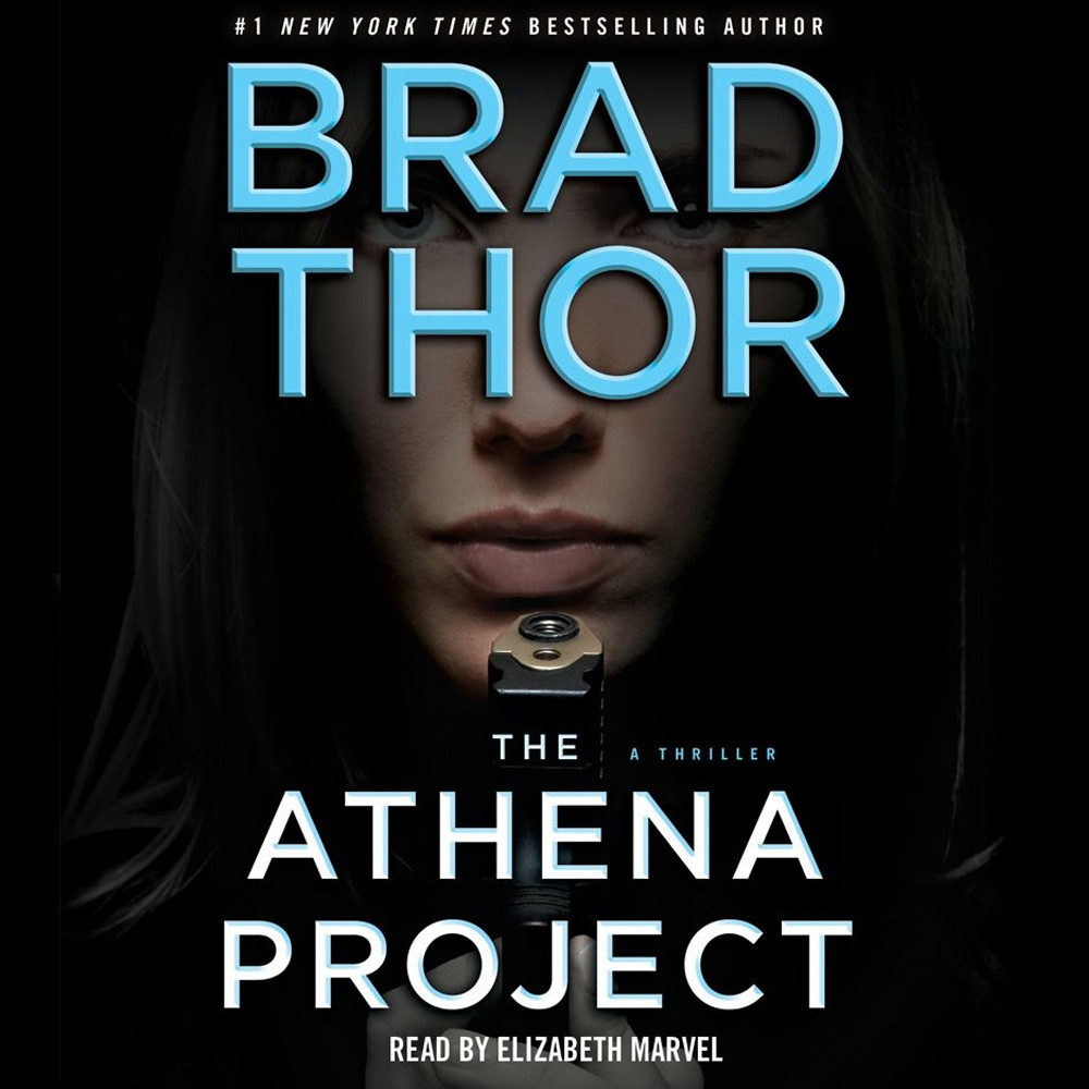 Printable The Athena Project: A Thriller Audiobook Cover Art