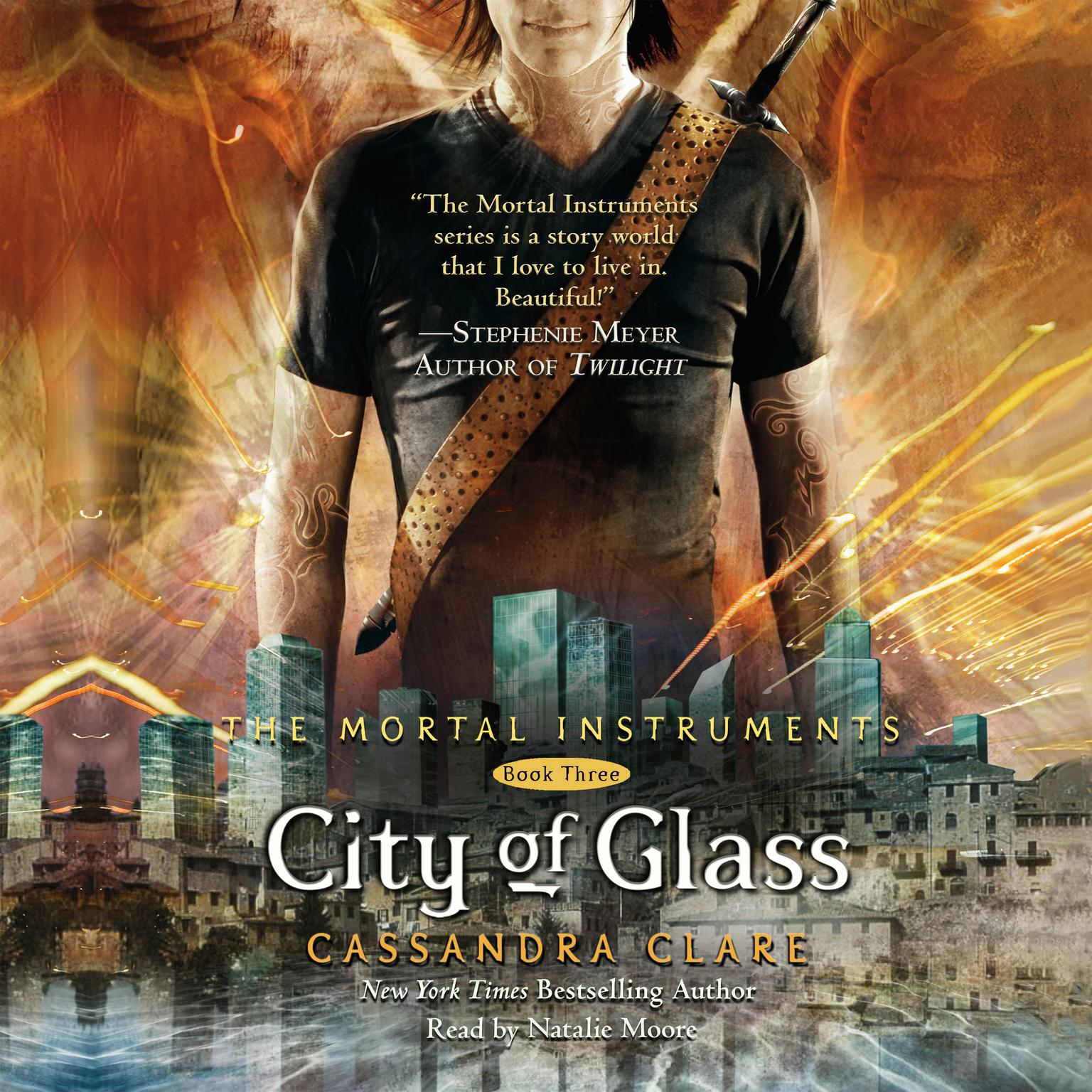 Printable City of Glass: The Mortal Instruments, Book Three Audiobook Cover Art