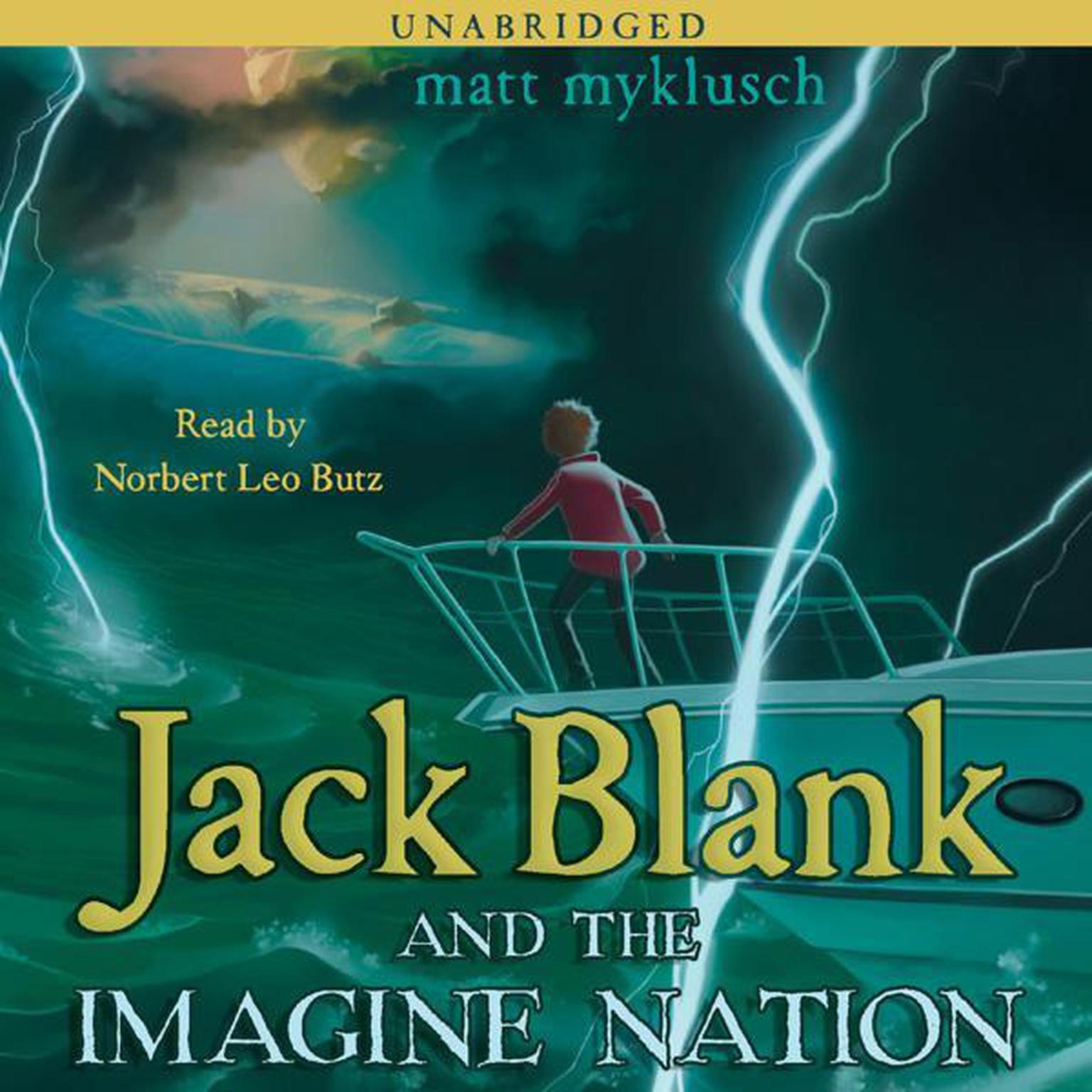 Printable Jack Blank and the Imagine Nation Audiobook Cover Art