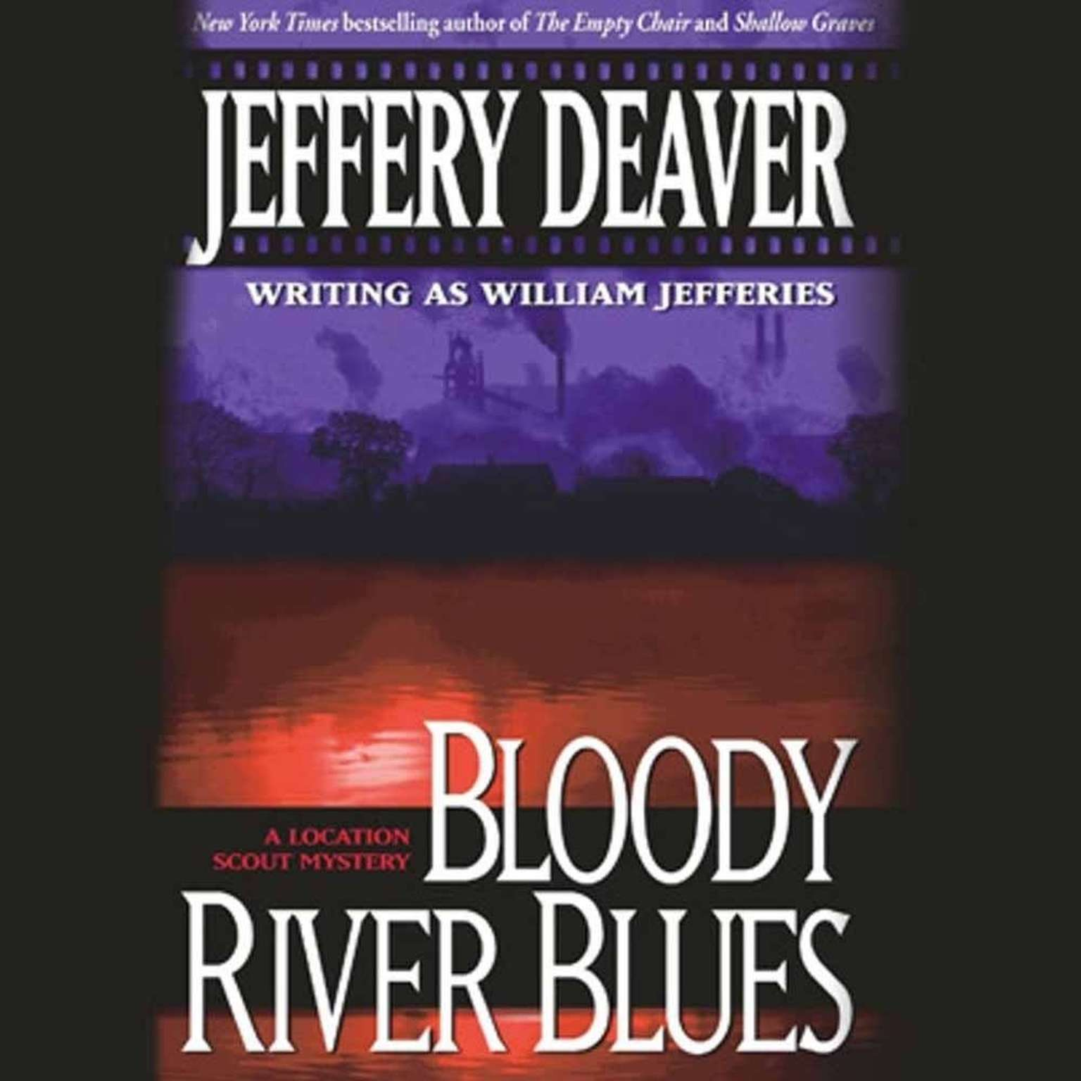 Printable Bloody River Blues Audiobook Cover Art