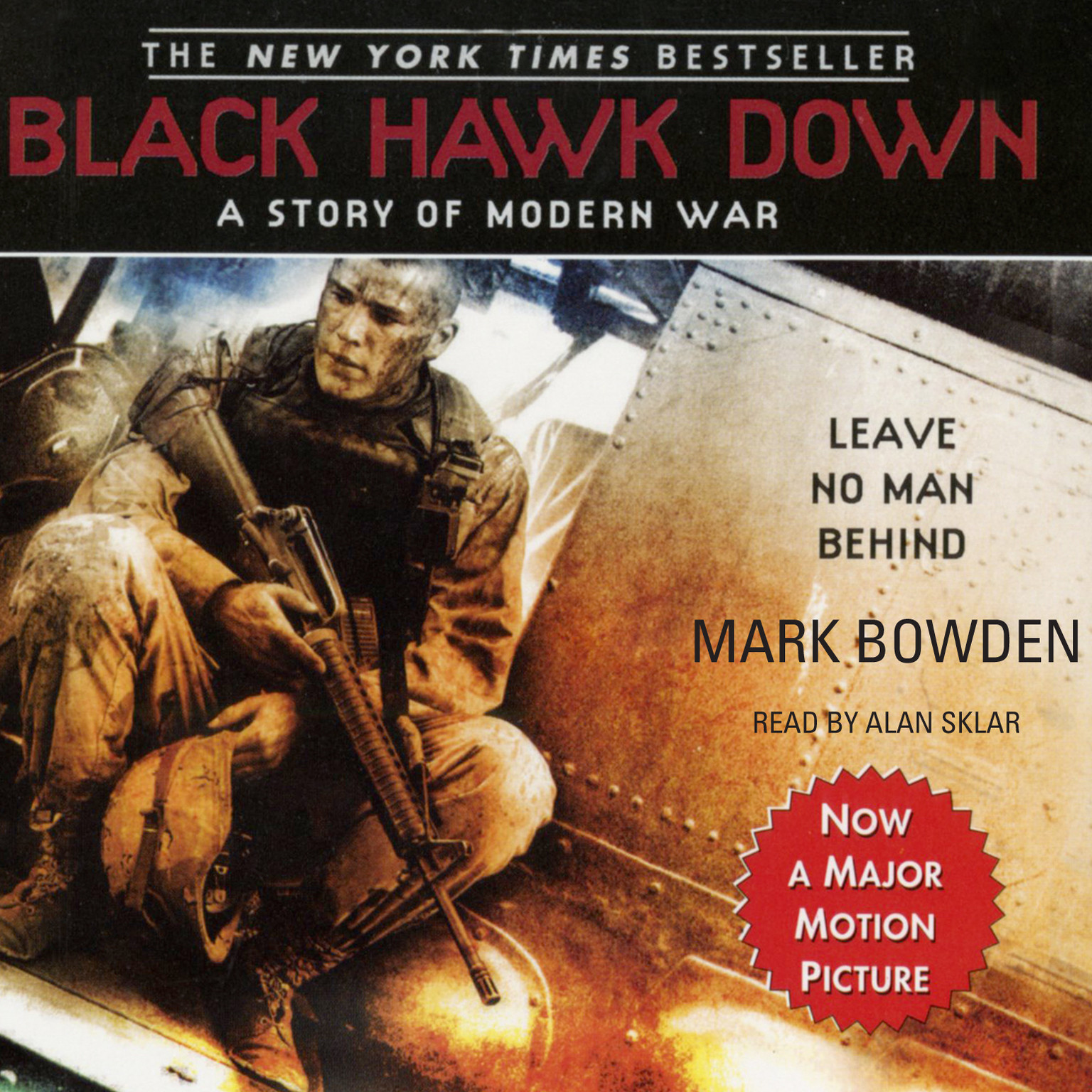 Printable Black Hawk Down: A Story of Modern War Audiobook Cover Art