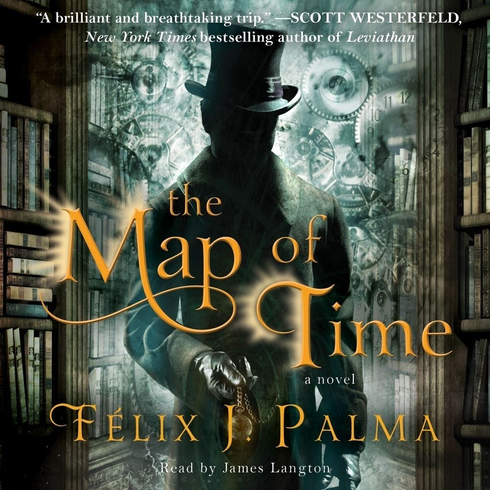Printable The Map of Time: A Novel Audiobook Cover Art