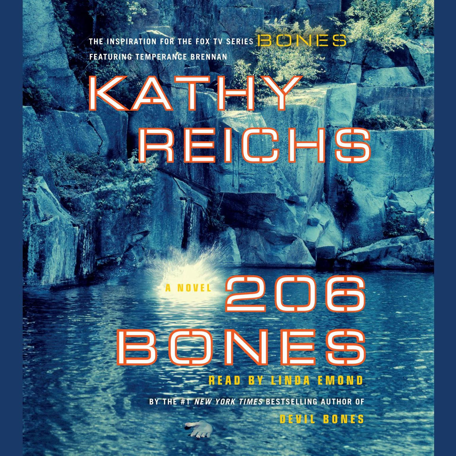 Printable 206 Bones: A Novel Audiobook Cover Art
