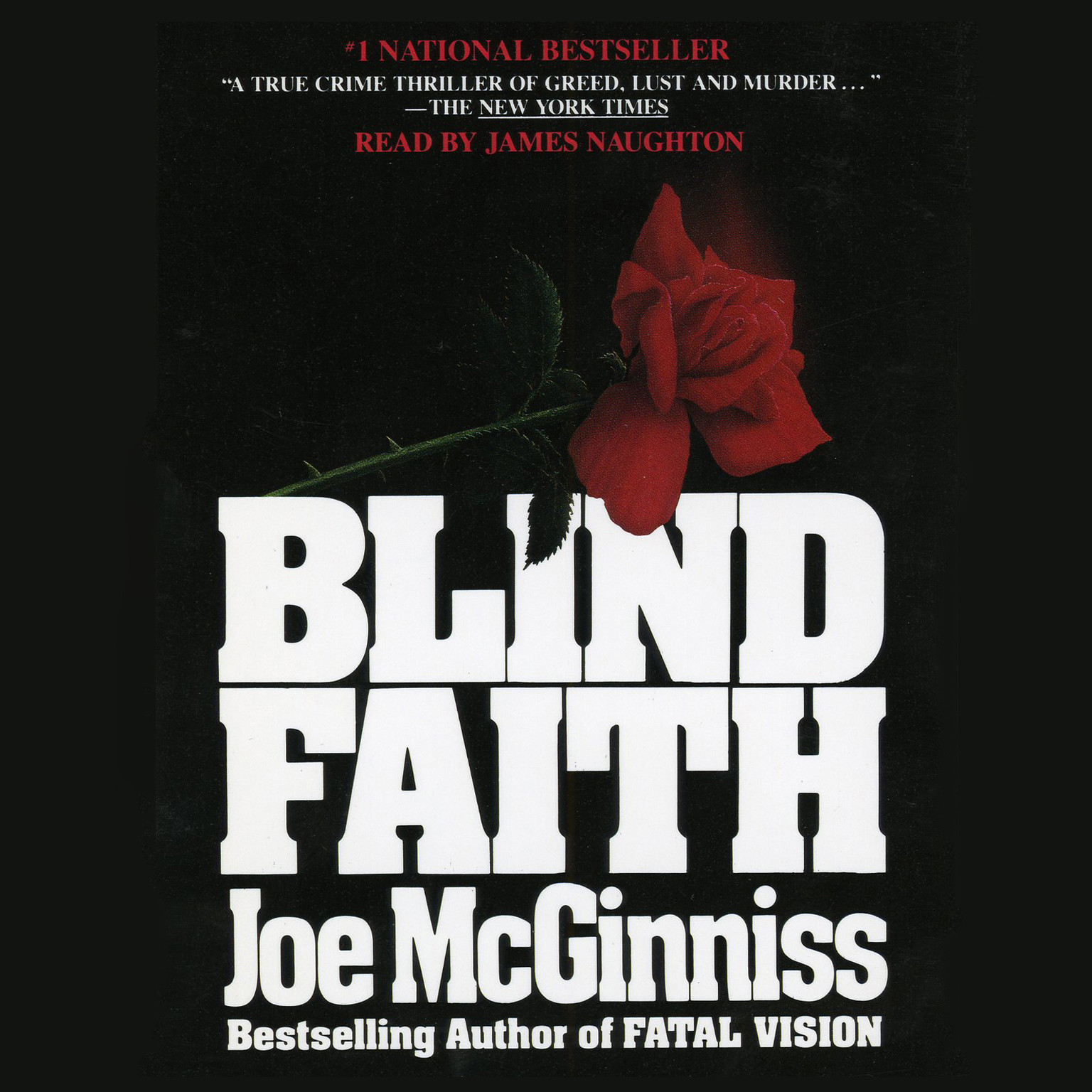 Printable Blind Faith Audiobook Cover Art