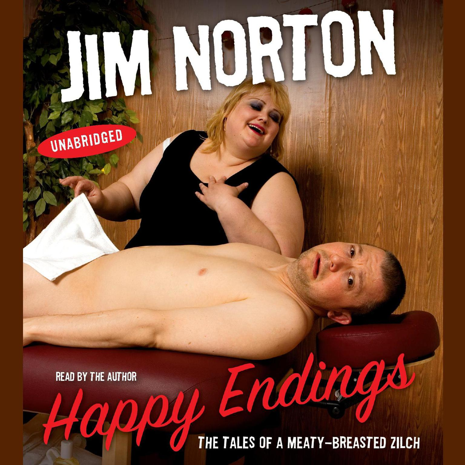 Printable Happy Endings: The Tales of a Meaty-Breasted Zilch Audiobook Cover Art