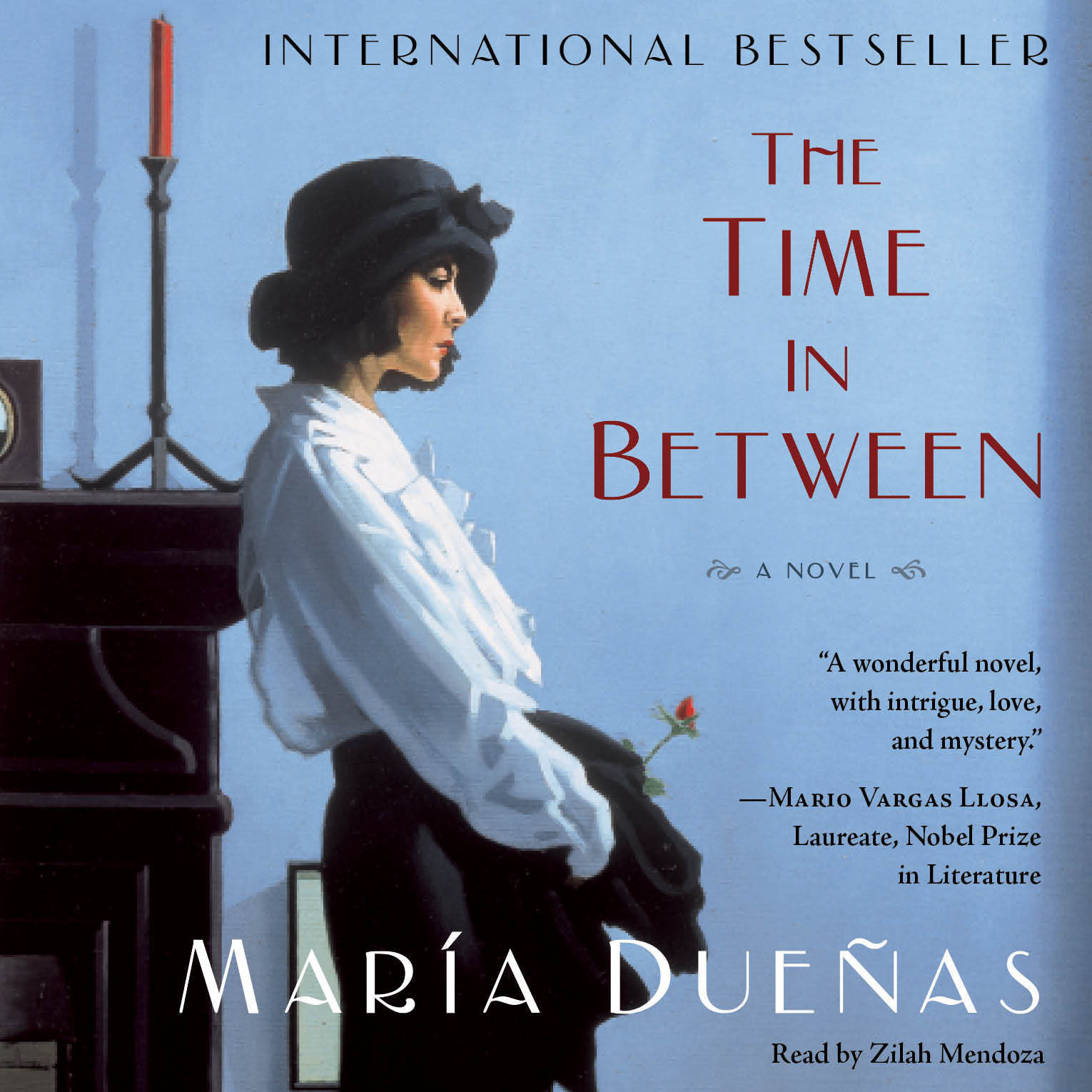 Printable The Time in Between: A Novel Audiobook Cover Art