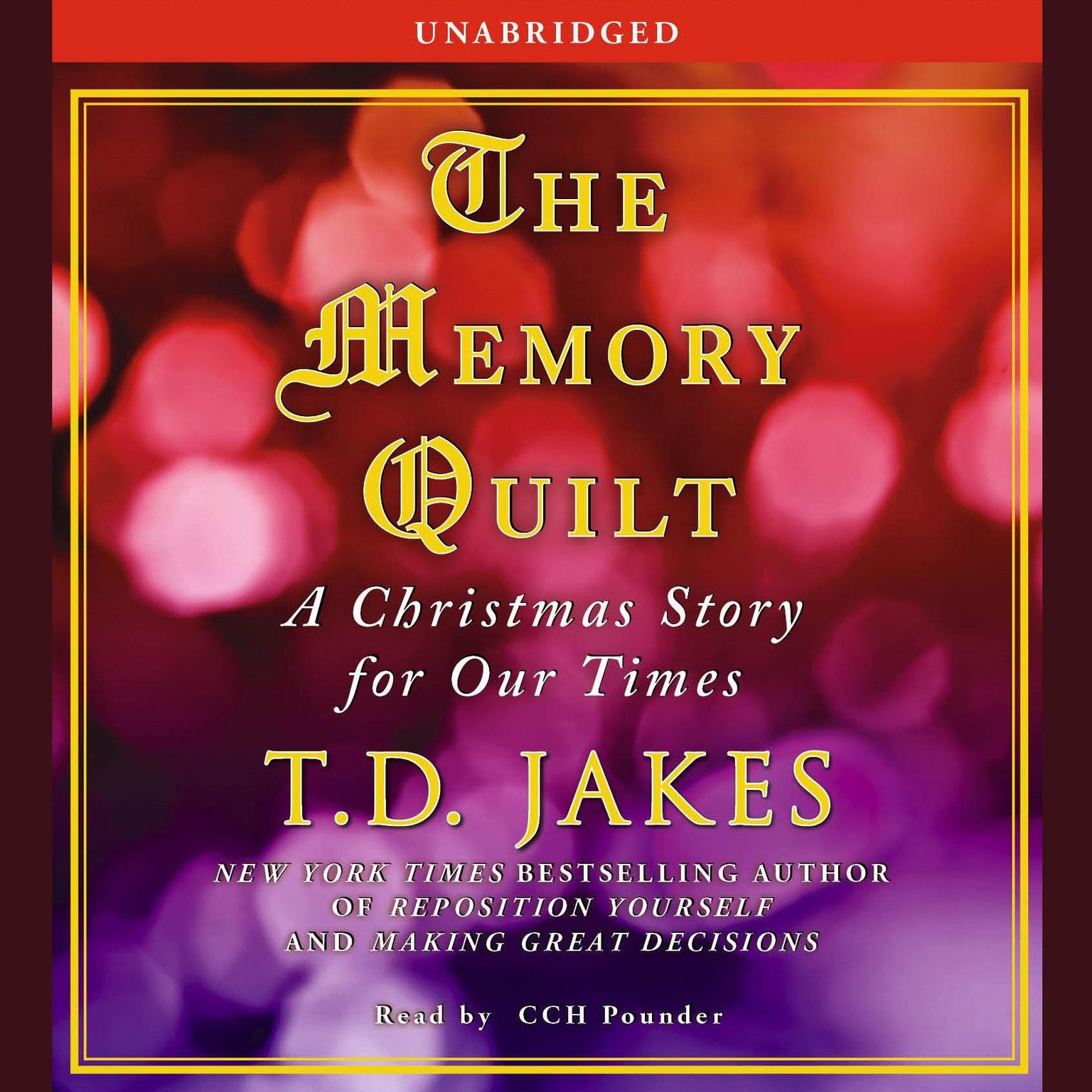 Printable The Memory Quilt: A Christmas Story for Our Times Audiobook Cover Art