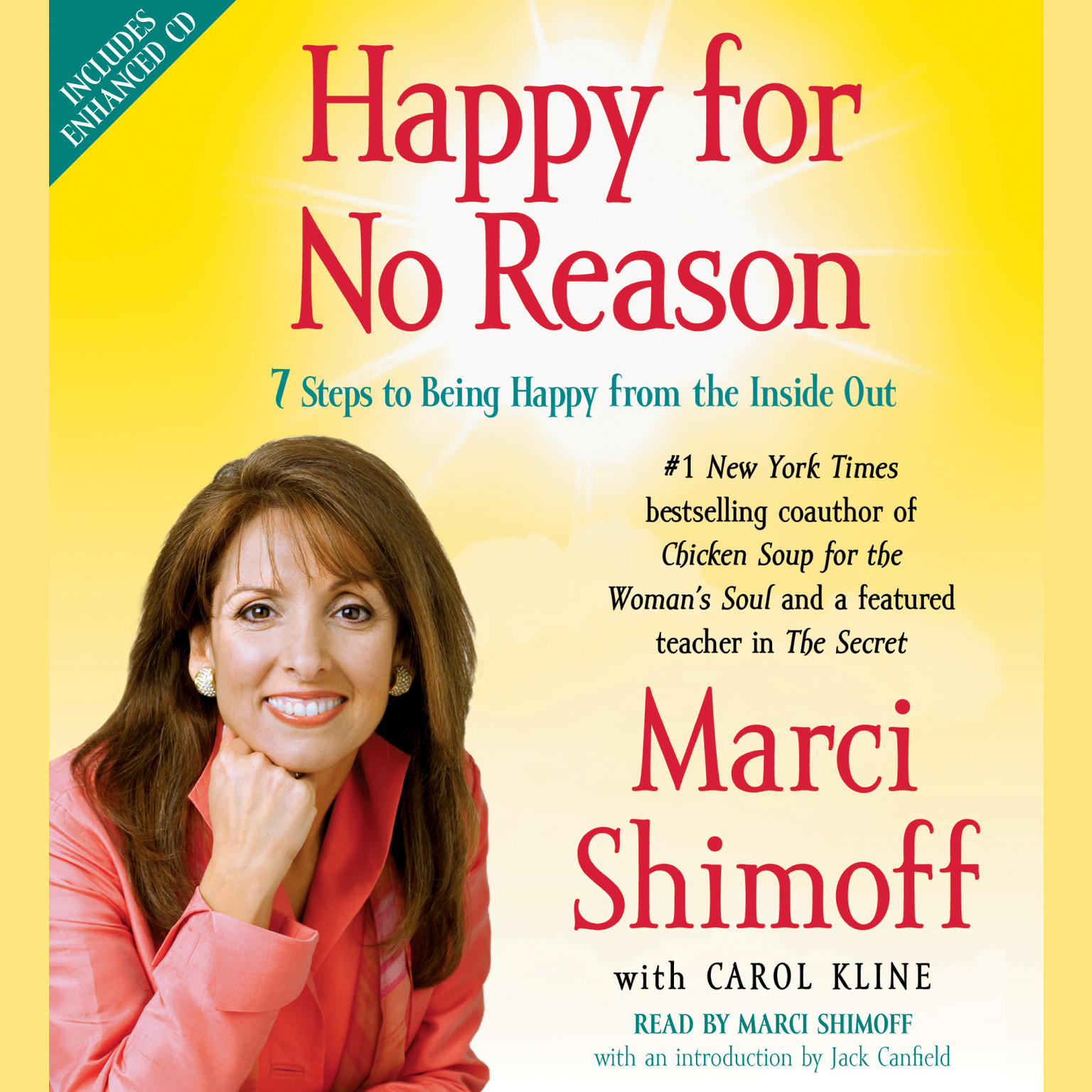 Printable Happy for No Reason: 7 Steps to Being Happy from the Inside Out Audiobook Cover Art