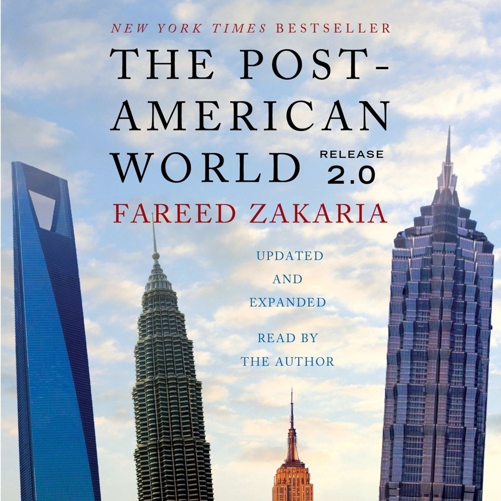 Printable The Post-American World 2.0 Audiobook Cover Art