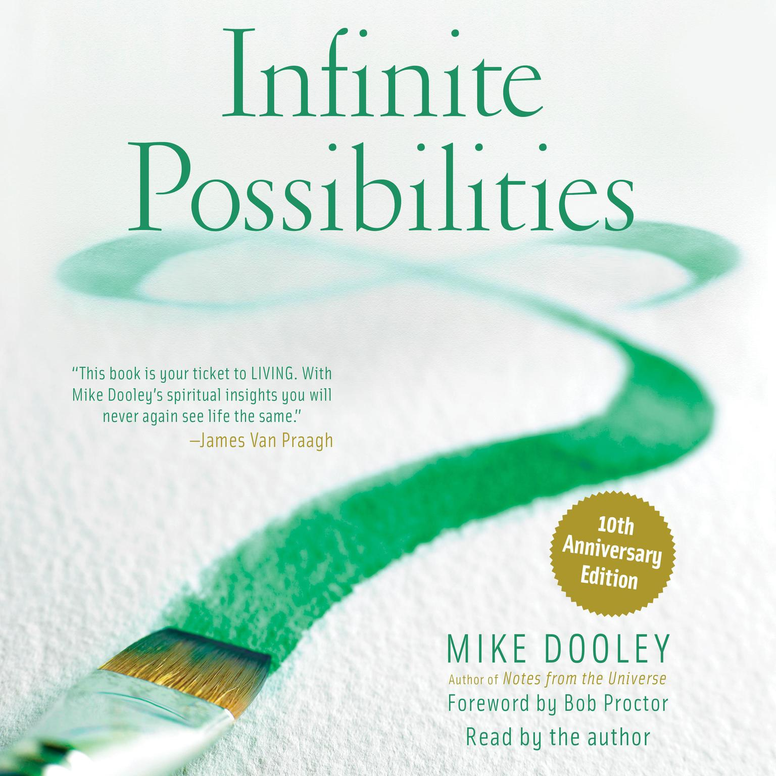 Printable Infinite Possibilities: The Art of Living your Dreams Audiobook Cover Art