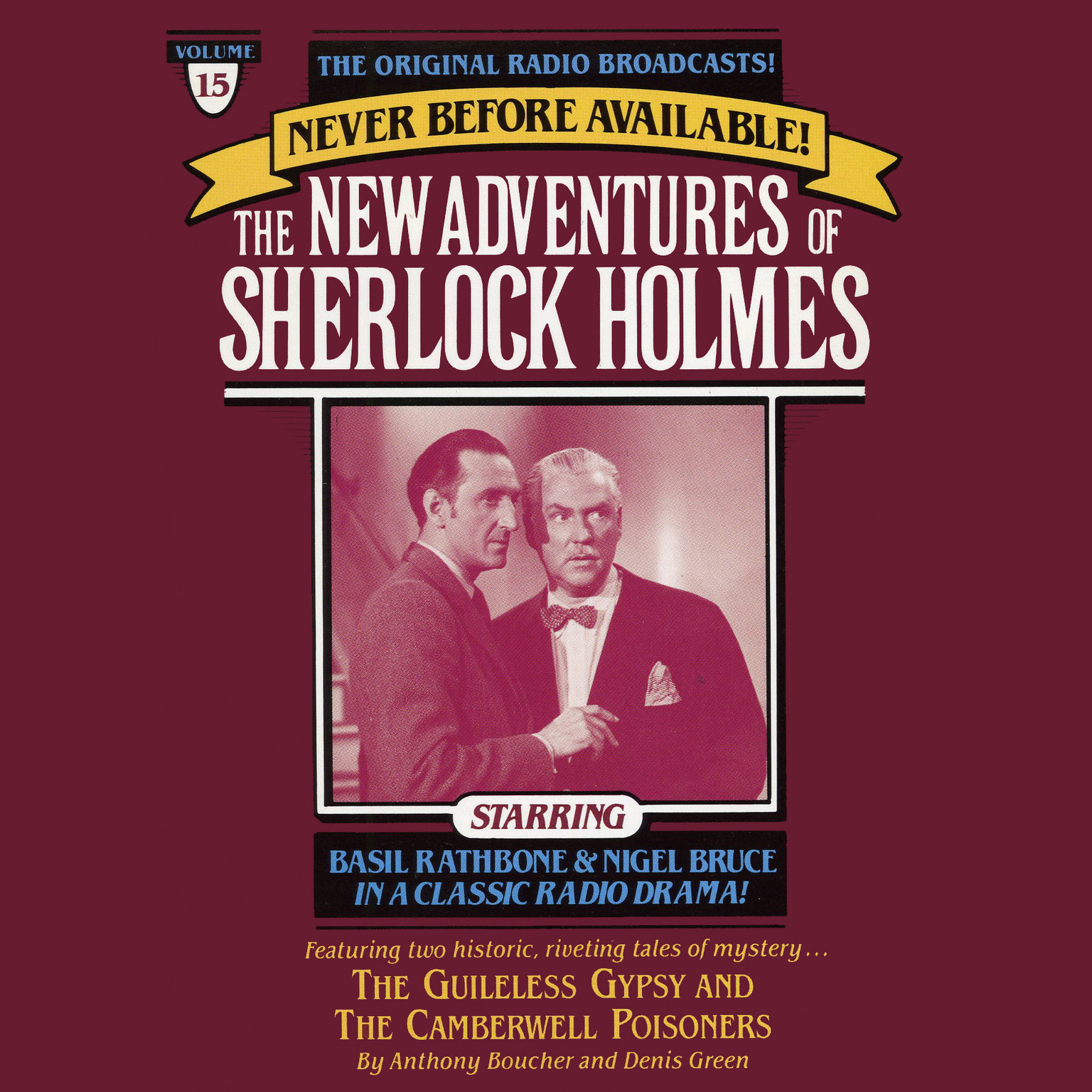 Printable The Guileless Gypsy and The Camberville Poiseners: The New Adventures of Sherlock Holmes, Episode 15 Audiobook Cover Art