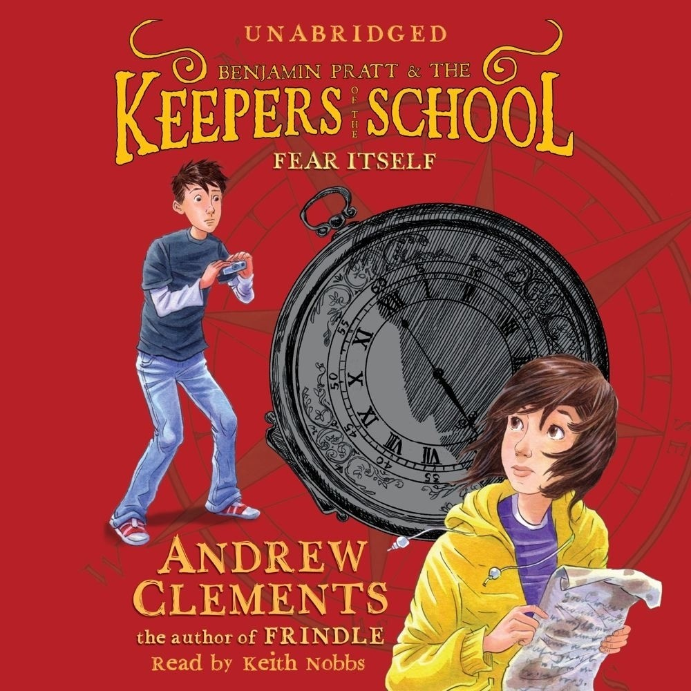 Printable Fear Itself: Keepers of the School, Book 2 Audiobook Cover Art