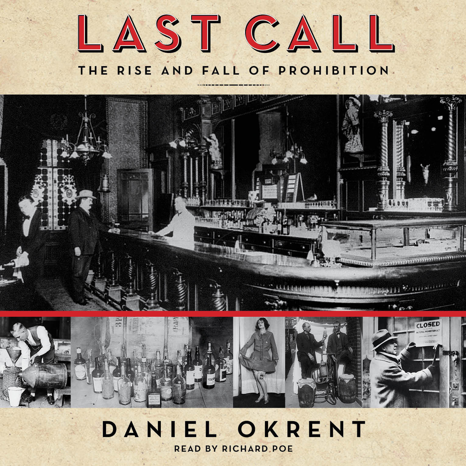 Printable Last Call: The Rise and Fall of Prohibition Audiobook Cover Art