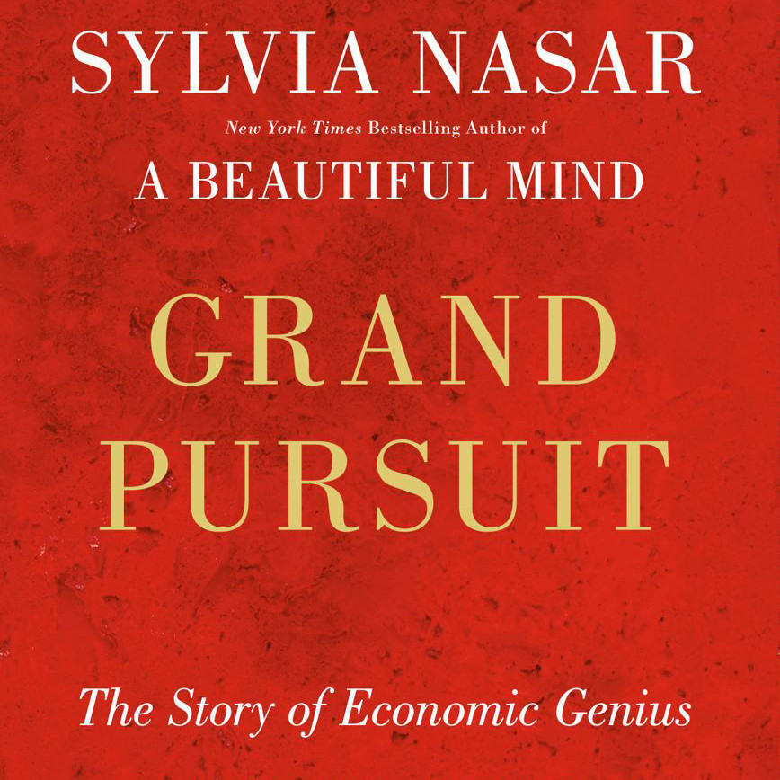 Printable Grand Pursuit: The History of Economic Genius Audiobook Cover Art