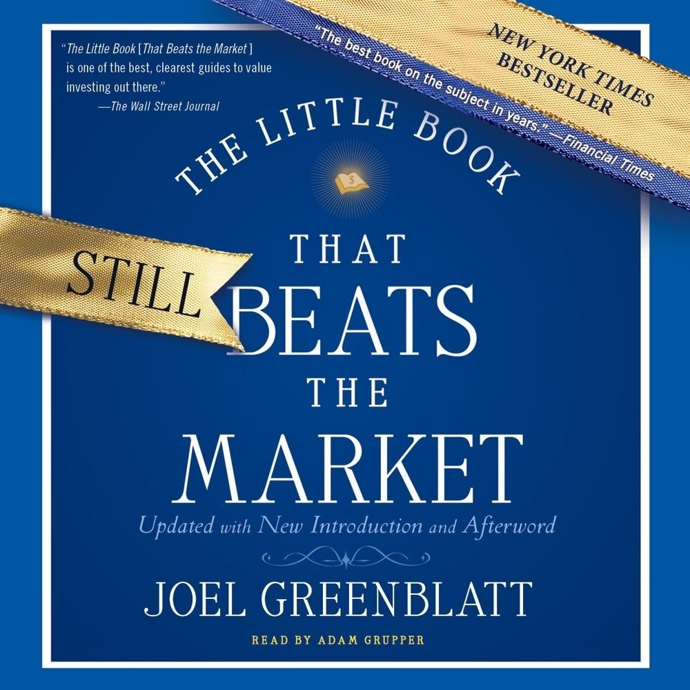 Printable The Little Book That Still Beats the Market Audiobook Cover Art