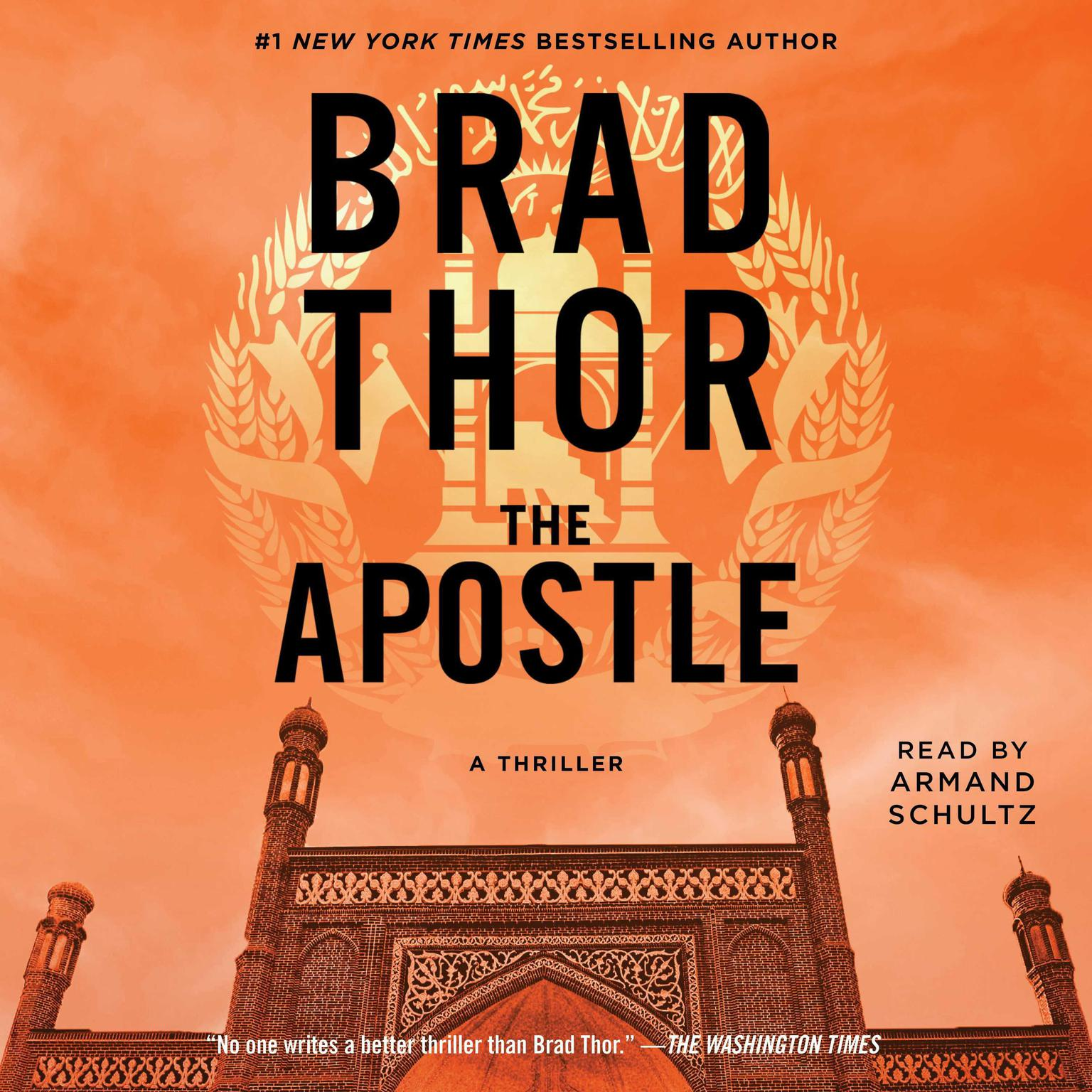Printable The Apostle: A Thriller Audiobook Cover Art