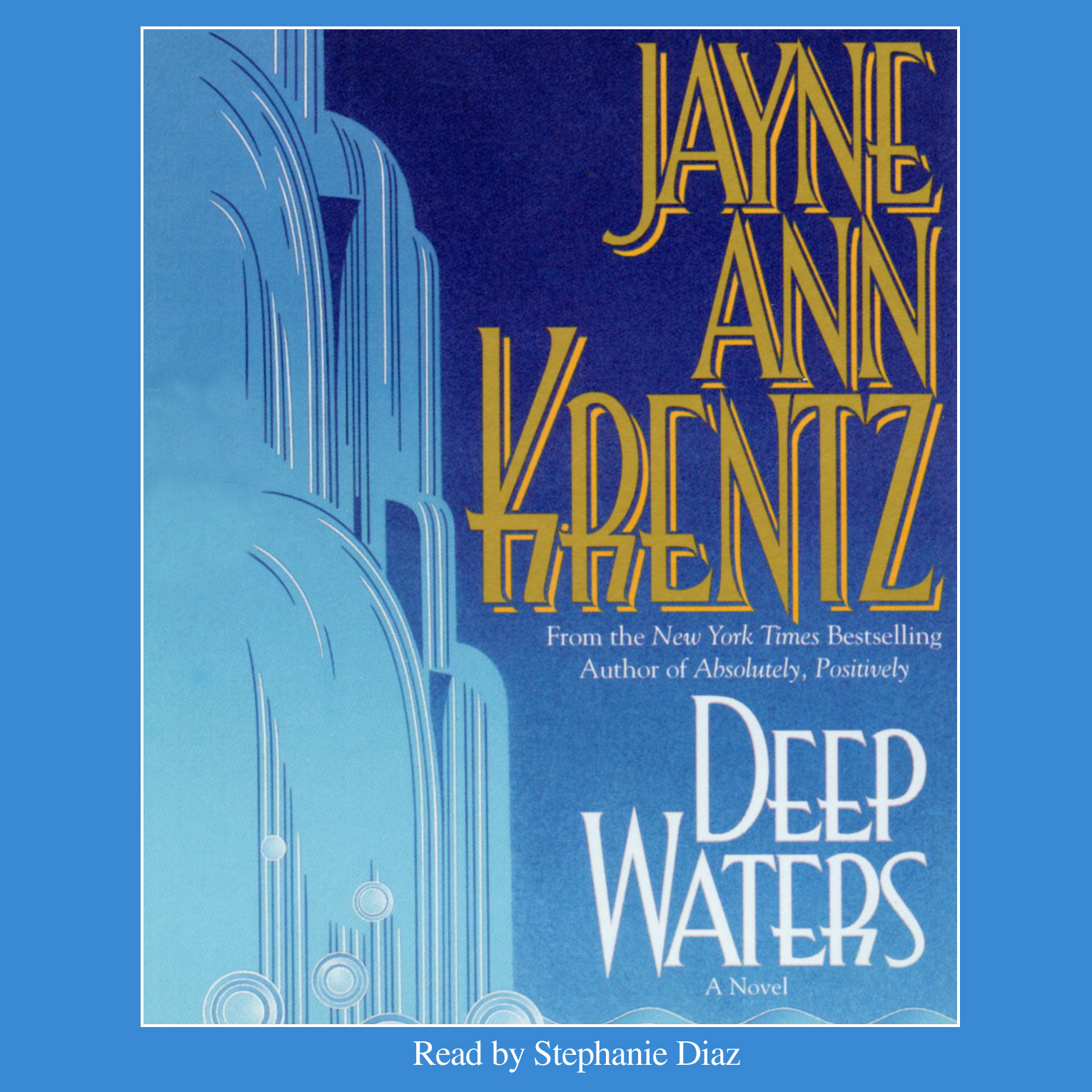 Printable Deep Waters Audiobook Cover Art
