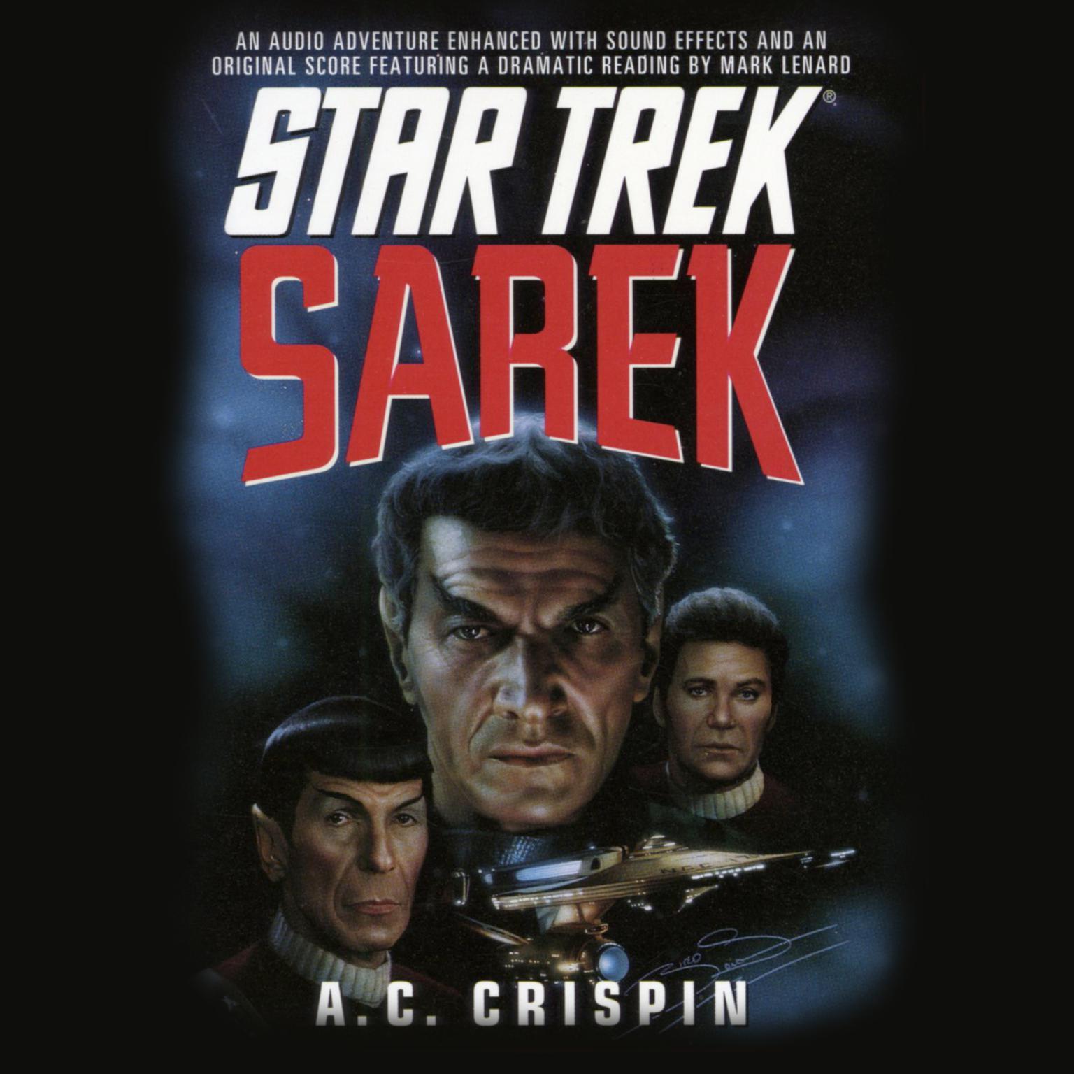 Printable Star Trek: Sarek Audiobook Cover Art