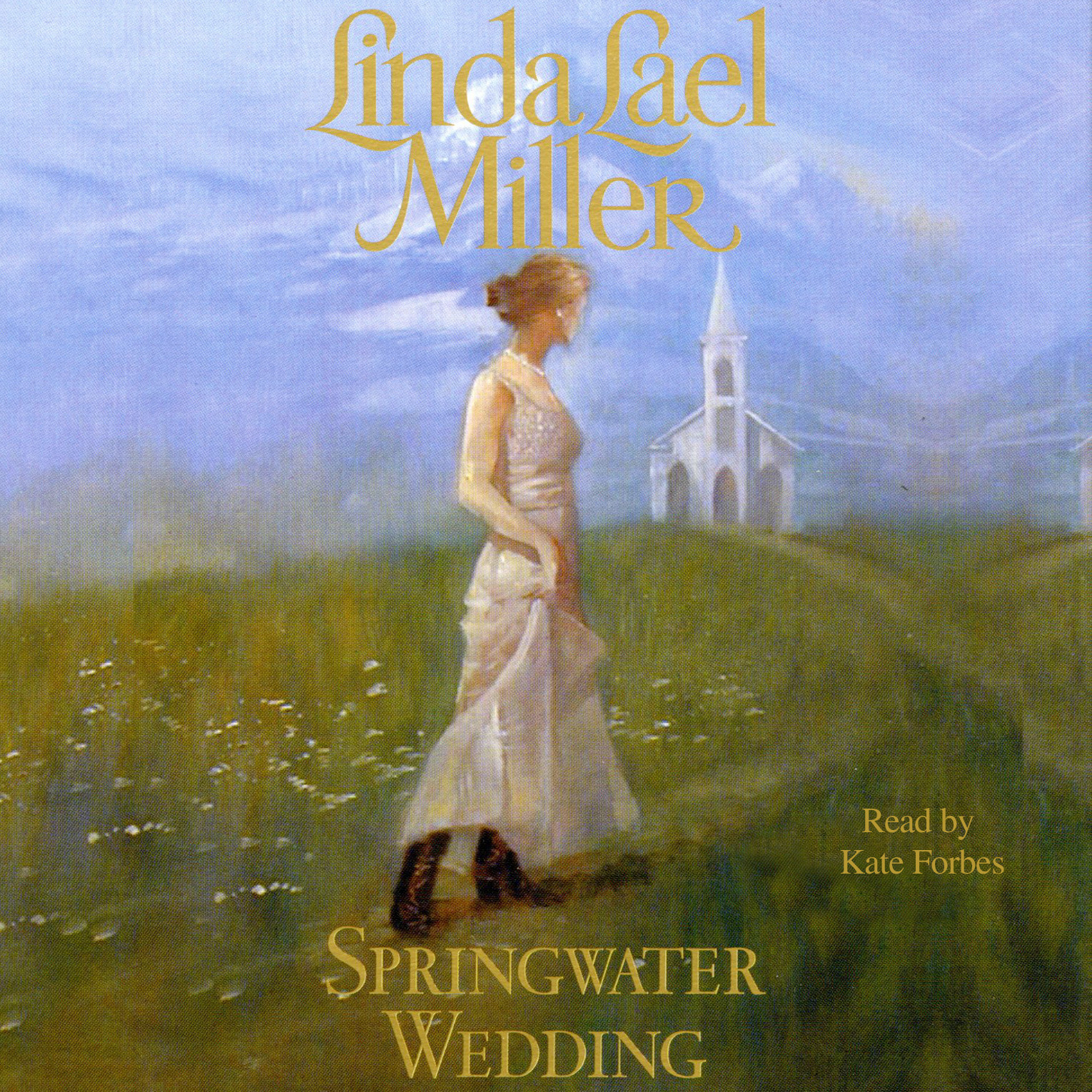 Printable Springwater Wedding Audiobook Cover Art