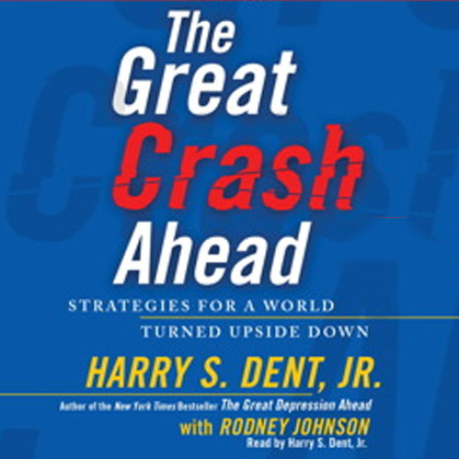 Printable The Great Crash Ahead: Strategies for a World Turned Upside Down Audiobook Cover Art
