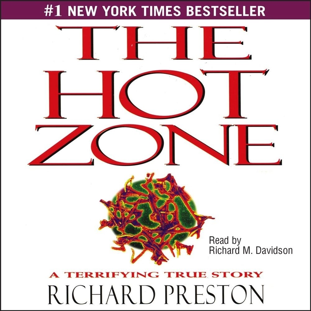 Printable Hot Zone Audiobook Cover Art