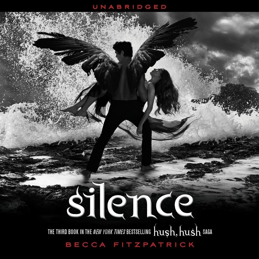 Printable Silence Audiobook Cover Art