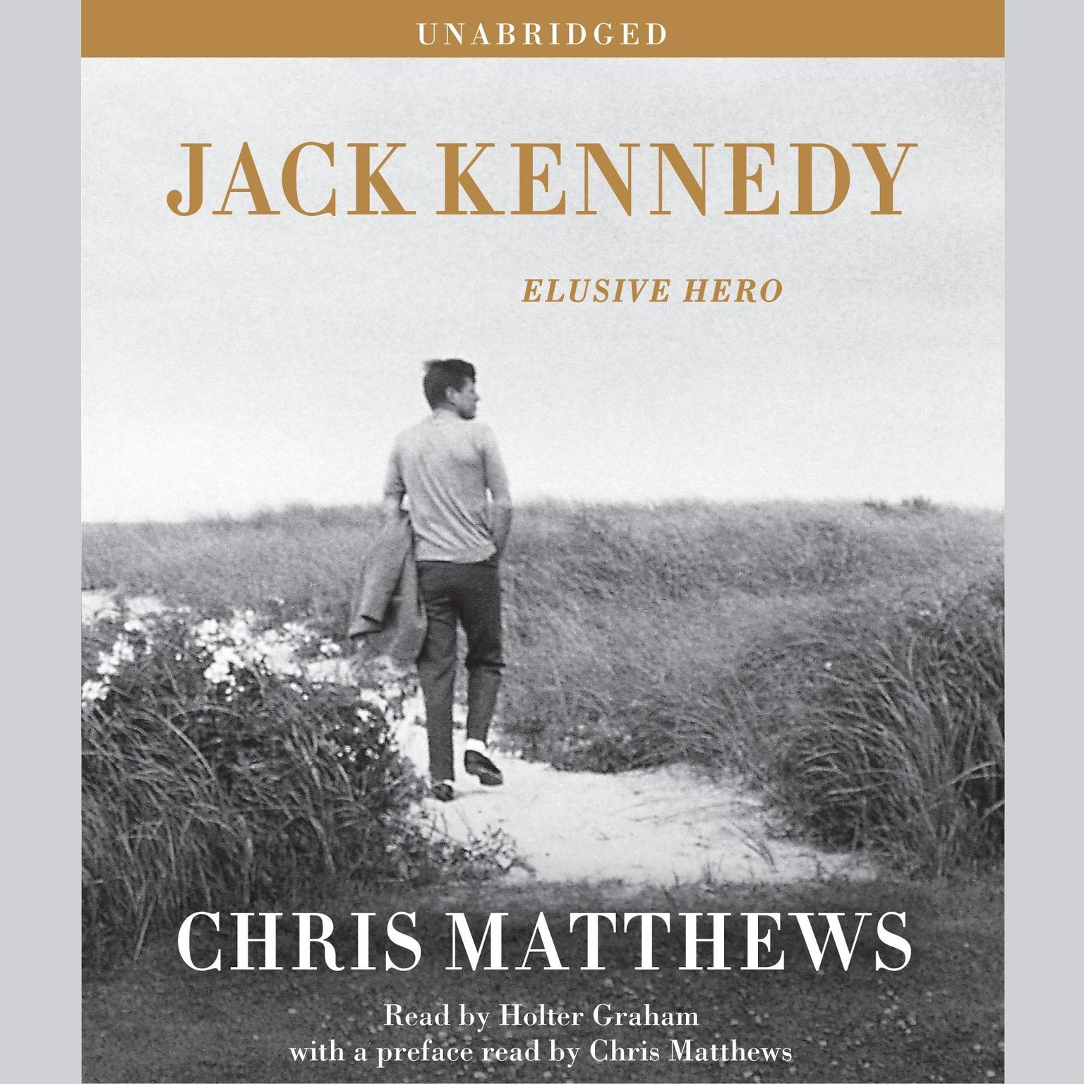 Printable Jack Kennedy: Elusive Hero Audiobook Cover Art