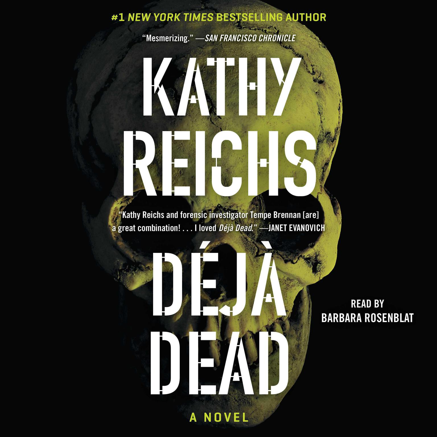Printable Deja Dead Audiobook Cover Art