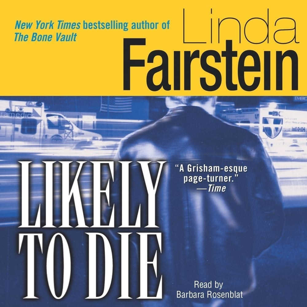 Printable Likely to Die Audiobook Cover Art