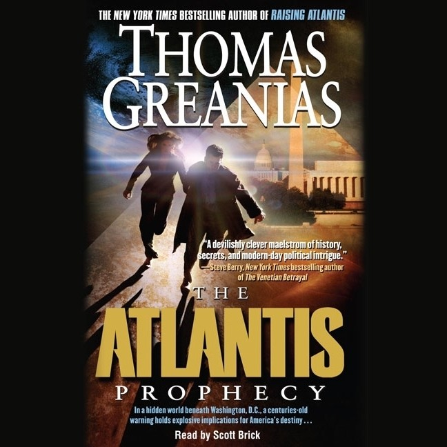 Printable The Atlantis Prophecy Audiobook Cover Art