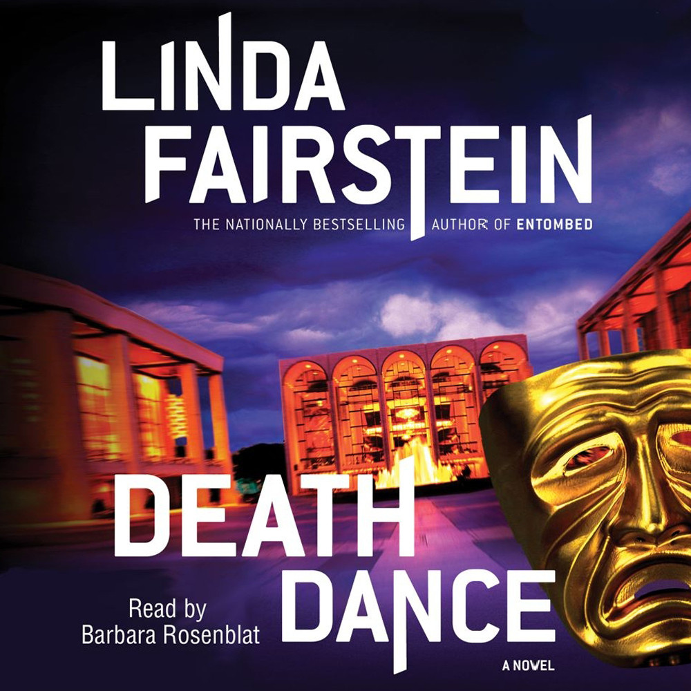 Printable Death Dance Audiobook Cover Art