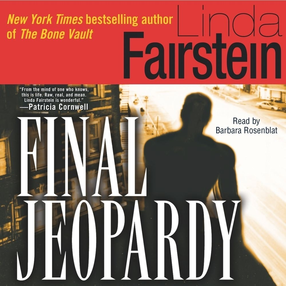 Printable Final Jeopardy Audiobook Cover Art