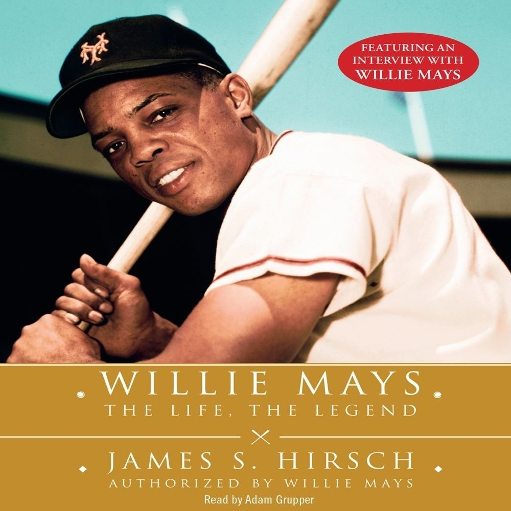 Printable Willie Mays Audiobook Cover Art
