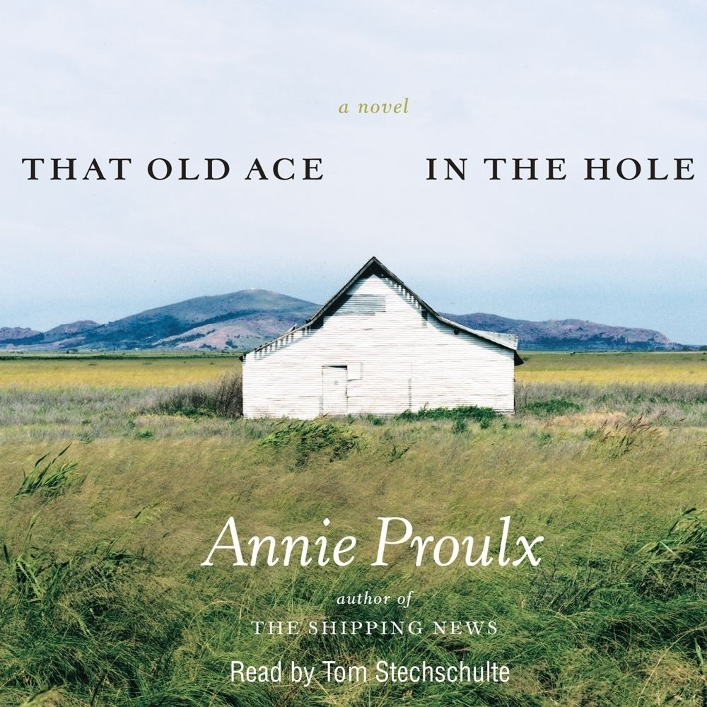 Printable That Old Ace in the Hole Audiobook Cover Art