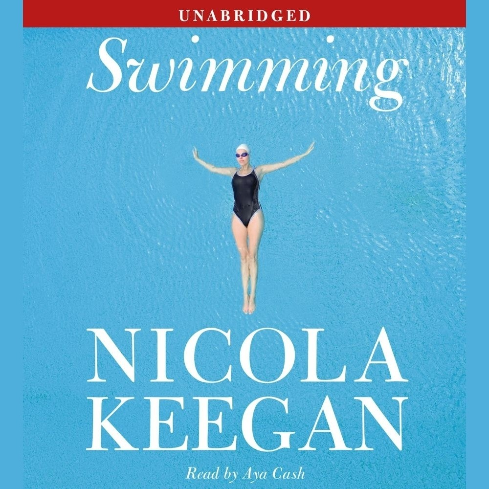 Printable Swimming: A Novel Audiobook Cover Art