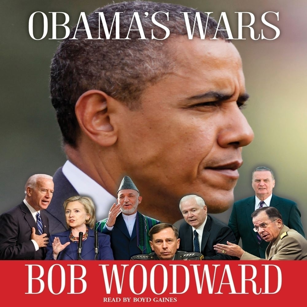 Printable Obama's Wars Audiobook Cover Art