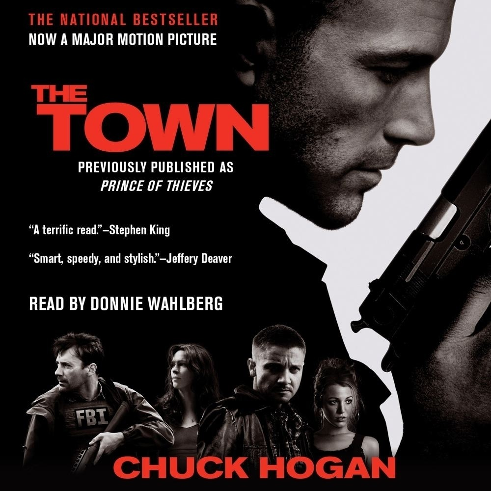 Printable The Town: A Novel Audiobook Cover Art