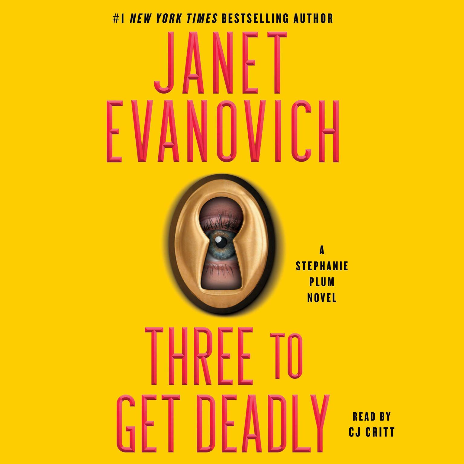 Printable Three to Get Deadly Audiobook Cover Art