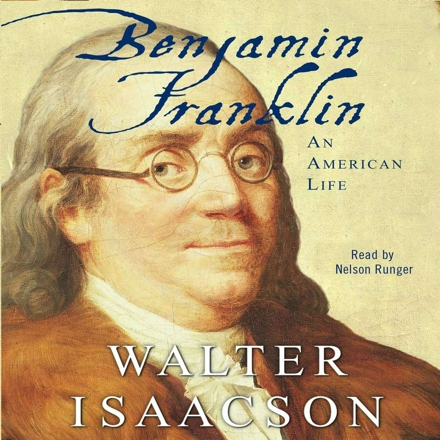 Printable Benjamin Franklin: An American Life Audiobook Cover Art