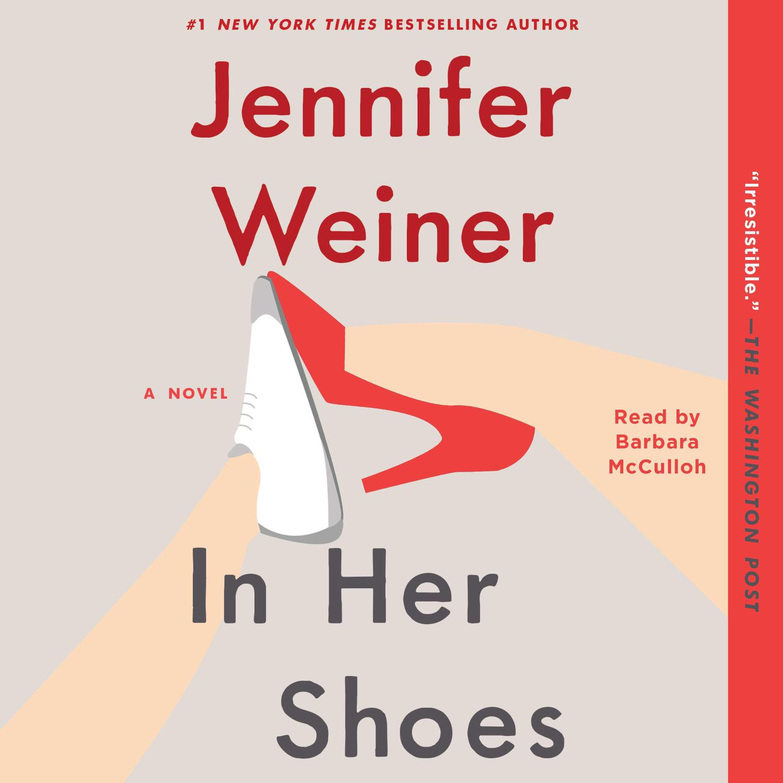 Printable In Her Shoes: A Novel Audiobook Cover Art