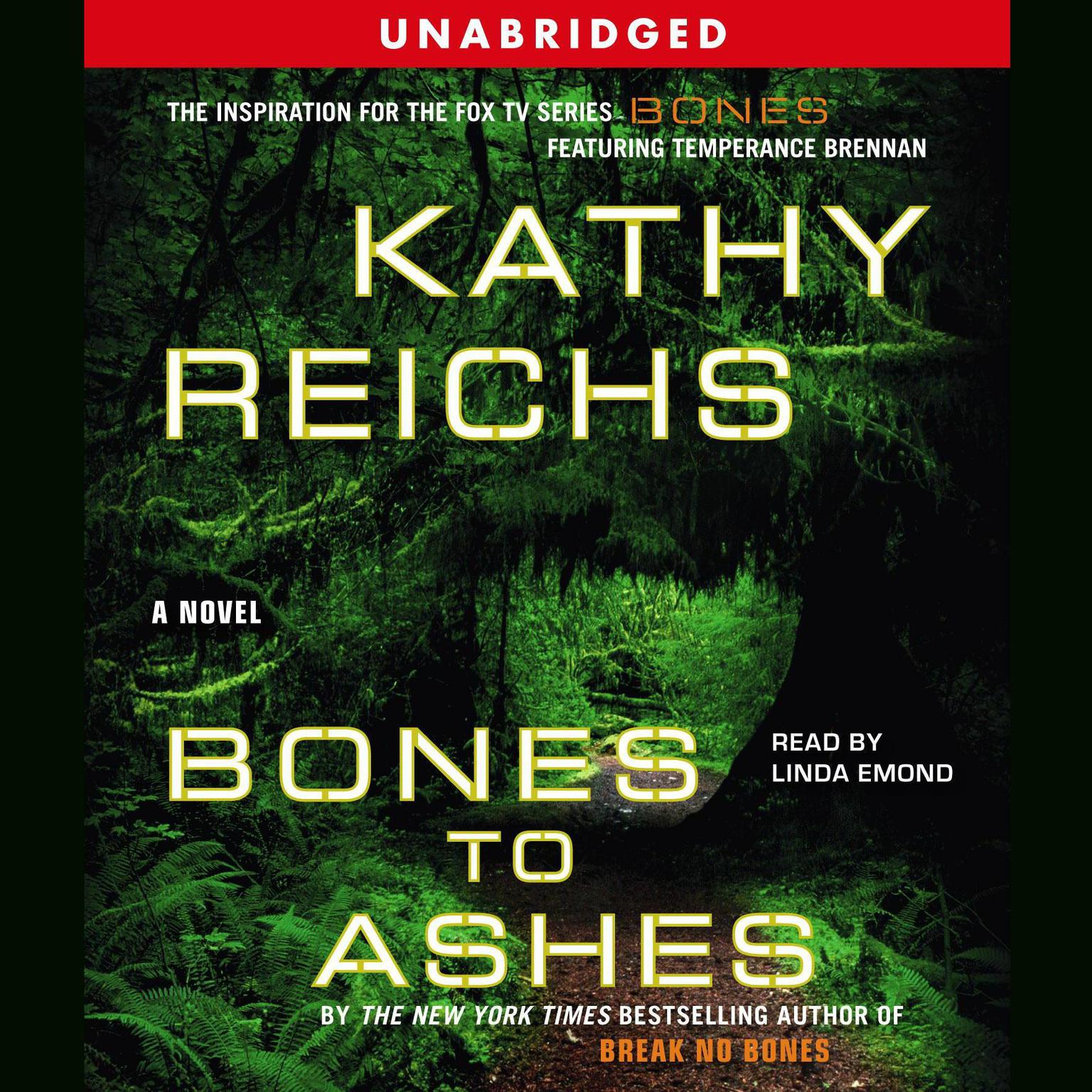 Printable Bones to Ashes Audiobook Cover Art