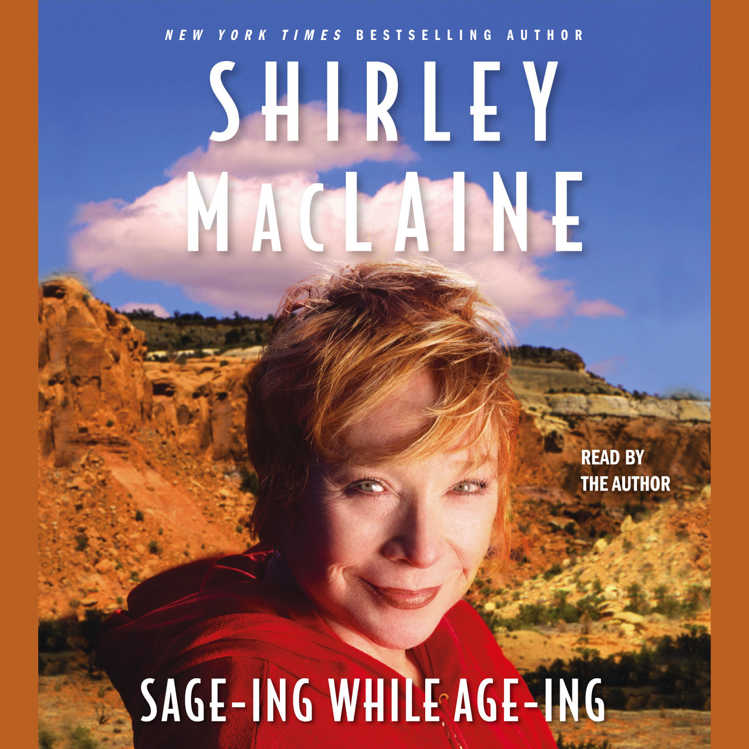 Printable Sage-ing While Age-ing Audiobook Cover Art