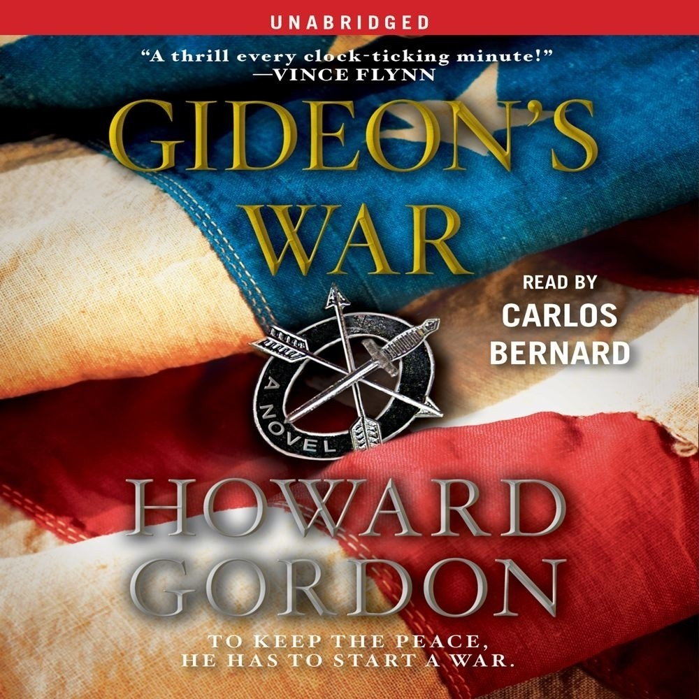 Printable Gideon's War: A Novel Audiobook Cover Art