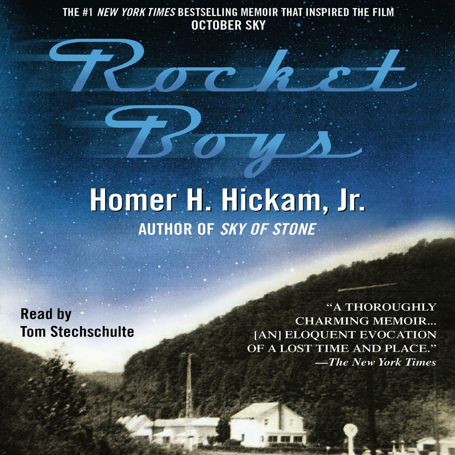 Printable Rocket Boys Audiobook Cover Art