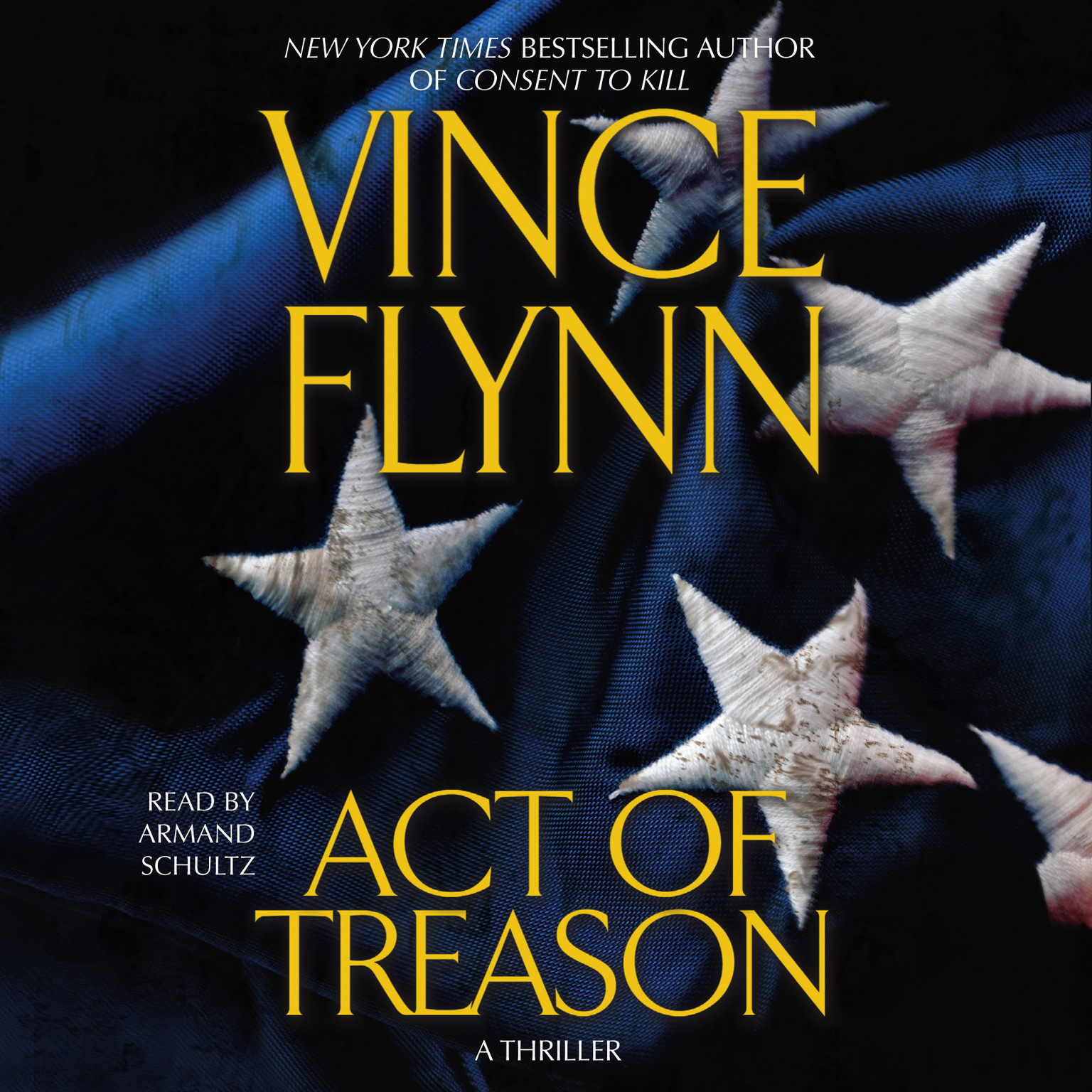 Printable Act of Treason Audiobook Cover Art